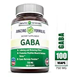 Best Gaba Supplements - Amazing Nutrition Gaba ( Gamma Aminobutyric Acid) 750 Review