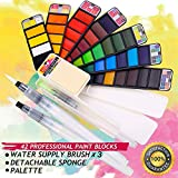 MISULOVE Watercolor Paint Set, 42 Assorted Colors