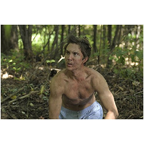 Being Human 8 x 10 Photo Sam Huntington/Josh Levison Shirtless in Woods Dirty kn ()