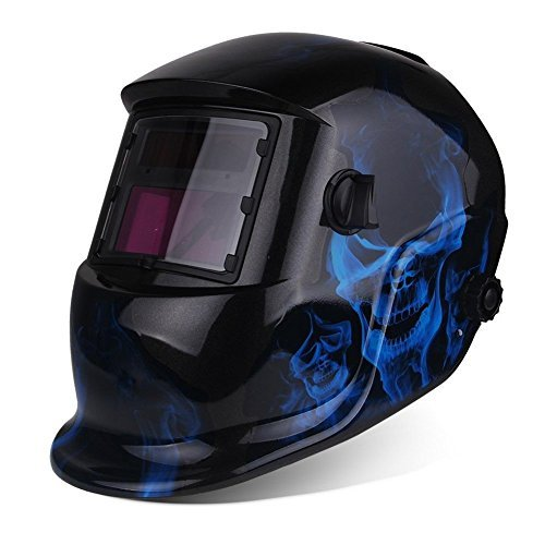 Welding Helmet Mask (Blue) - 6
