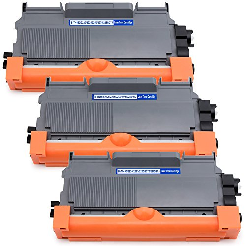 Compatible Toner Cartridges Replacement for Brother TN450 TN-450 TN420 TN-420, for Brother HL-2270DW HL-2280DW HL2230 HL2240D MFC-7860DW MFC-7360N MFC7460DN DCP-7065DN FAX-2840 (Compatible Black Fax Cartridge)