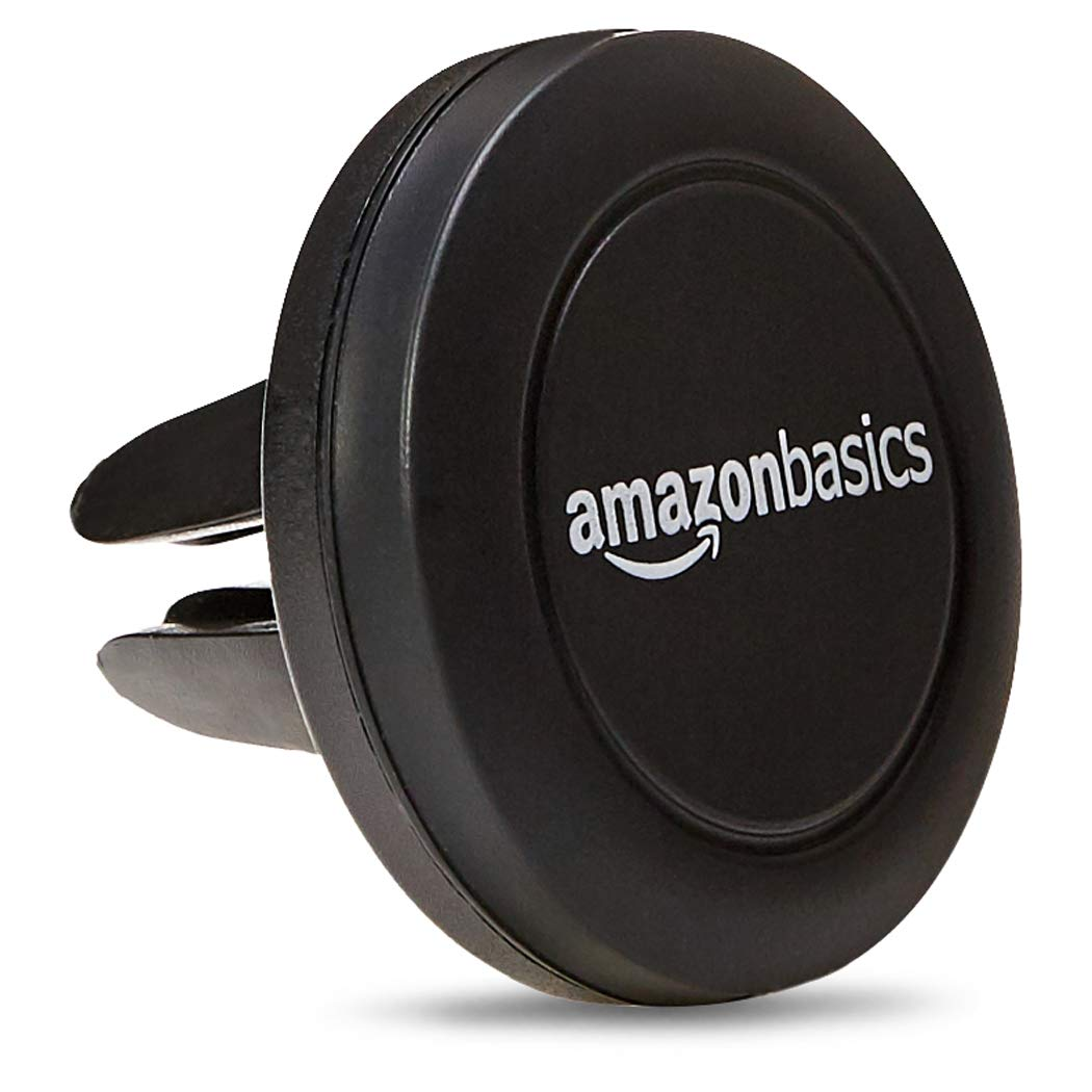 AmazonBasics Universal Air Vent Car Cell Phone Holder | 2-Pack