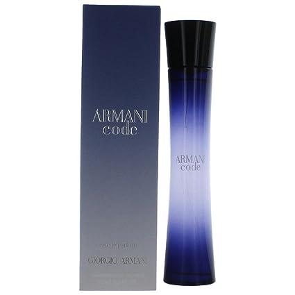 3f655972 Armani Armani Code Femme Agua de perfume Vaporizador 75 ml