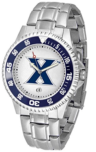Xavier Musketeers Suntime Competitor Game Day Steel Band Watch - NCAA College Athletics