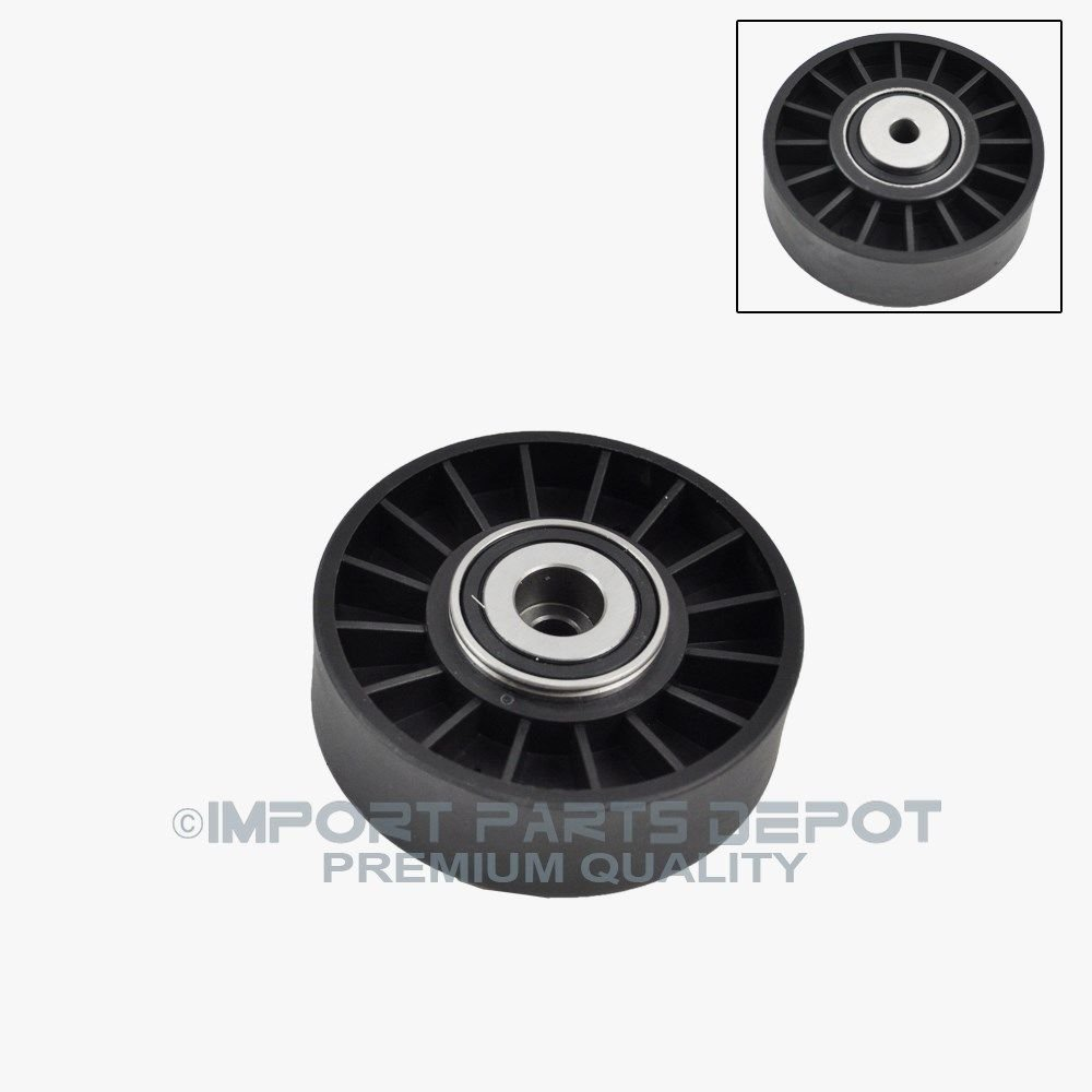 Belt Tensioner Pulley for Mercedes-Benz W201 W126 W124 W210 190D 190E 300D 300SD 300SDL 300TD 350SD 350SDL 500SL E300 S350 Premium 6012000970 New Koolman Products