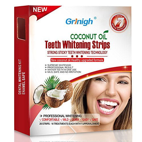White strips the more natural way.