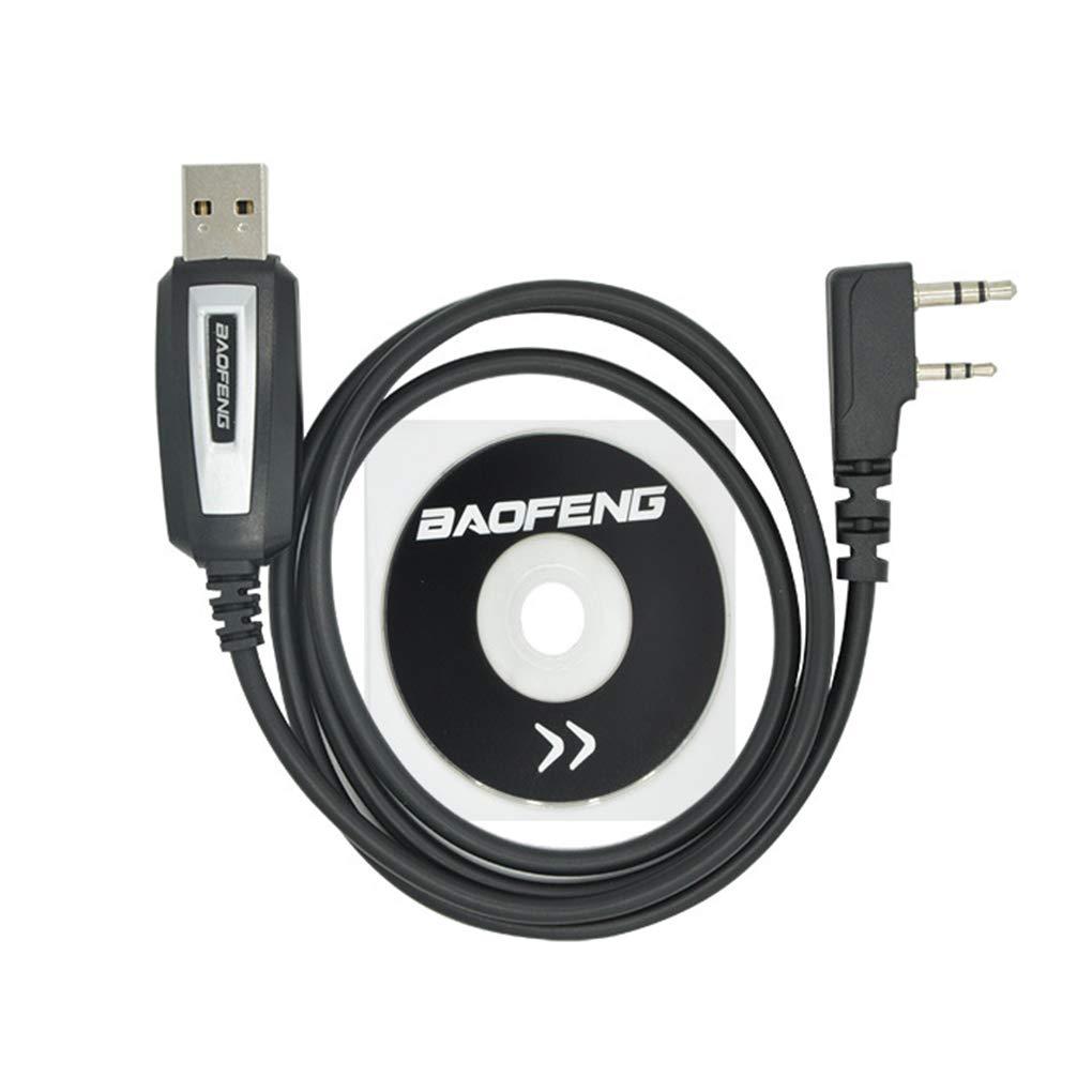 Kineca Programmazione USB di Ricambio Cavo per Baofeng UV-5R Driver CD del Software UV-82 BF-888s Accessori