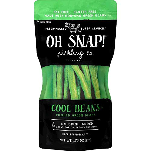 - OH Snap Cool Beans Pickled Green Beans, 1.75 Ounce -- 12 per case.