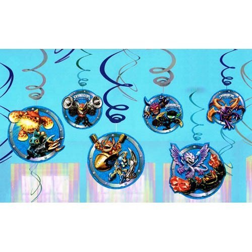 Skylanders Swirl Hanging Decorations -