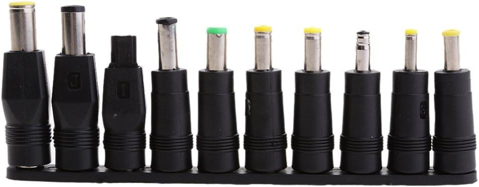gazechimp Universal DC Power 5.5x2.1mm Jack to 10Plug Adapter Connector Converter