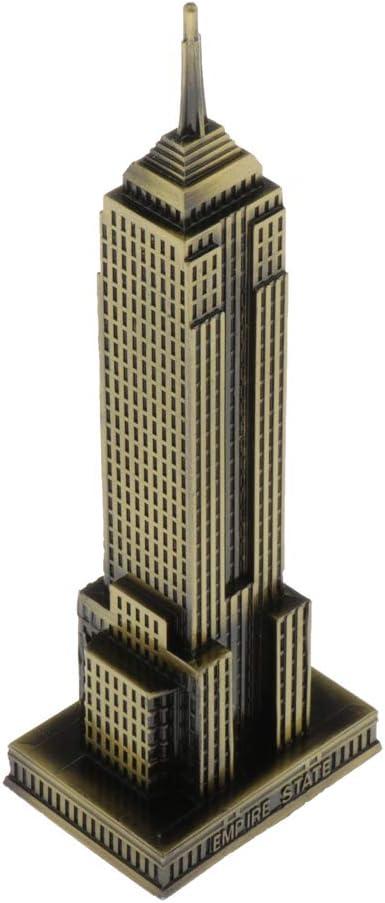 Amazon.es: P Prettyia Modelo de Edificio Empire State de Nueva ...