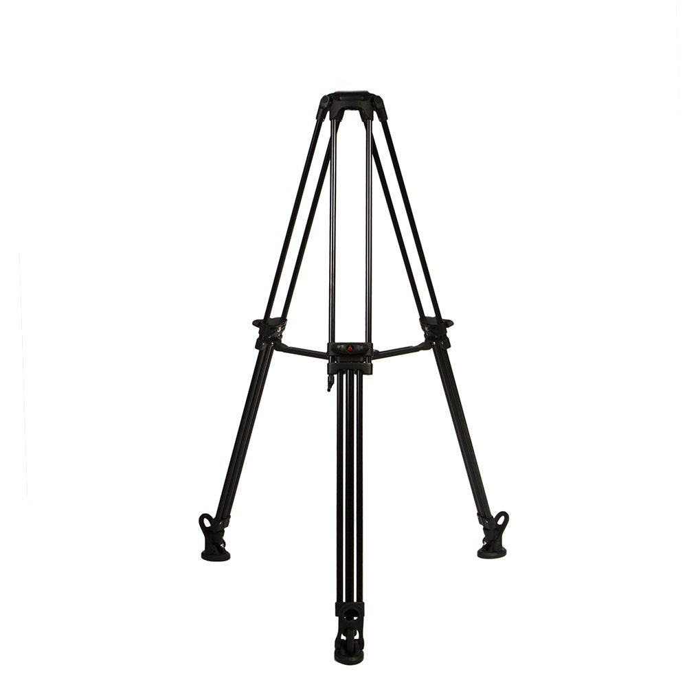 E-Image by Ikan GA752 2 Stage Aluminum Tripod 75mm Ball w/Mid-Level Spreader by E-Image