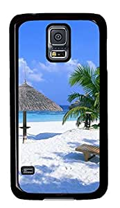 amazing Samsung S5 covers Beach 5 PC Black Custom Samsung Galaxy S5 Case Cover by supermalls
