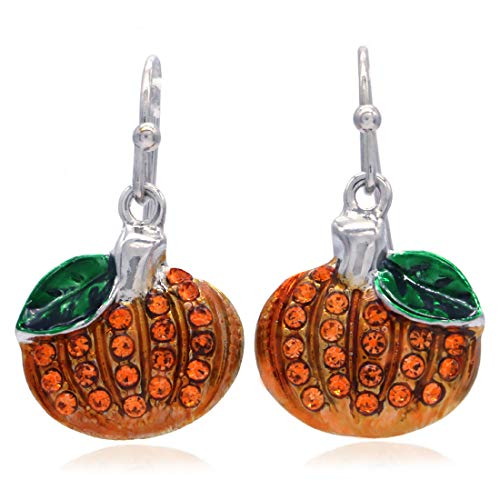 SoulBreeze Happy Halloween Fall Autumn Thanksgiving Jewelry Pumpkins Dangle Drop Style -