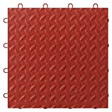 Gladiator GarageWorks GAFT48TTYR Red Floor Tile, 48-Pack