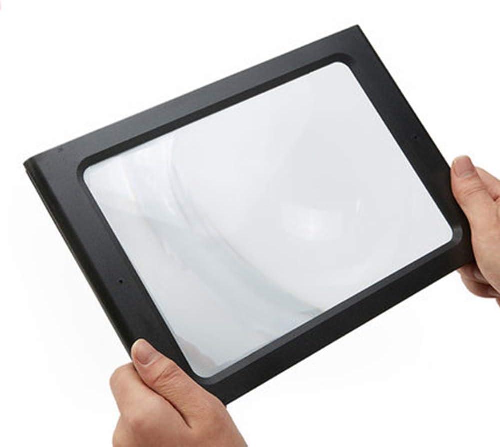 SLMY - Lupa de Pantalla para Smartphone de 12 Pulgadas, con Cargador USB, 2 vías, con Soporte Plegable para Todos los teléfonos Inteligentes: Amazon.es: Electrónica