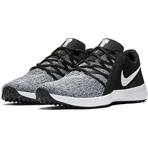 Nike Men's Varsity Compete Trainer Shoe (Black/White, 10)