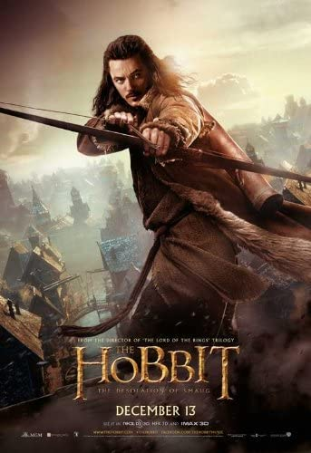 Amazon Com The Hobbit The Desolation Of Smaug 2013 11 X 17 Movie Poster Style C Posters Prints