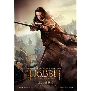 Amazon.com: El Hobbit: La Desolación de Smaug (2013) 27 x 40 ...