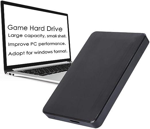 ゲームハードドライブ、HDD USB3.0外付け外付けハードドライブゲームホストWindowsおよびMac OS用モバイルハードディスクドライブ。(160G)