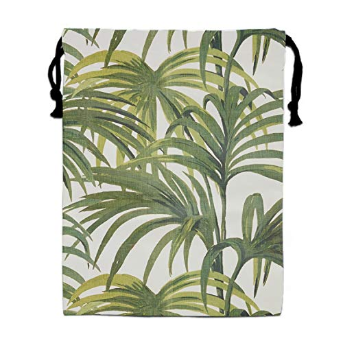 (Several Leaves Print Drawstring Bag Rucksack Totes Gym Bag Party Favors for Kids)