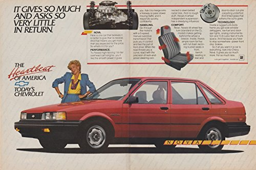 Nova Sedan - 1987 CHEVROLET NOVA 4-Door SEDAN