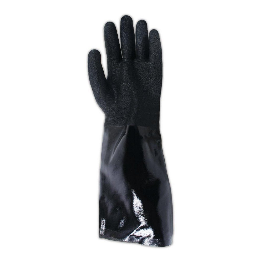 SHOWA 6797R  Neoprene Coated Glove, Cotton Liner, Chemical Resistant, Large (Pack of 12 Pairs) by SHOWA (Image #4)