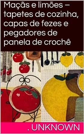 Amazon.com: Maçãs e limões – tapetes de cozinha, capas de