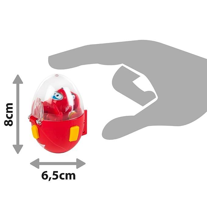 Super Wings - Huevo lanzadera Jett, 4.3 x 4 x 3 cm (ColorBaby 85111)