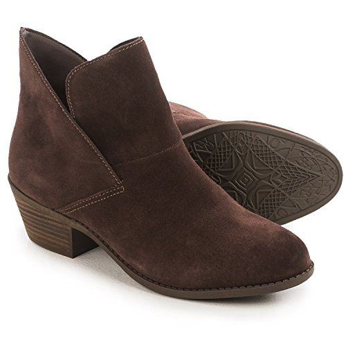 Me Too Womens Zale Slip On Boot Chocolate Suede Us 8 5 M