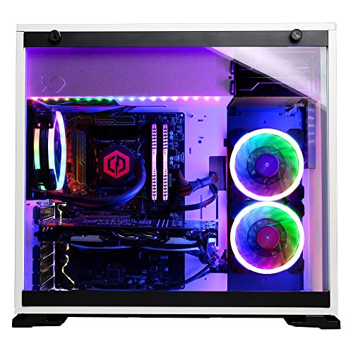 CyberpowerPC Gamer Supreme Liquid Cool SLC10400CPG Gaming PC (Intel Core  i9-9900K 3 6GHz, 16GB DDR4, NVIDIA GeForce GTX 1660 Ti 6GB, 1TB SSD,  802 11AC