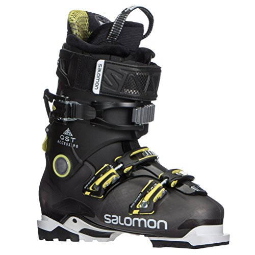 Salomon QST Access 90 Ski Boots 2018-26.5/Anthracite Translucent-Black-A (Ski Mountain Boots Salomon)
