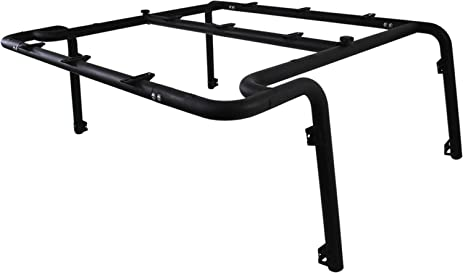 MBRP 130927 Black Coated Roof Rack System (2 Door)
