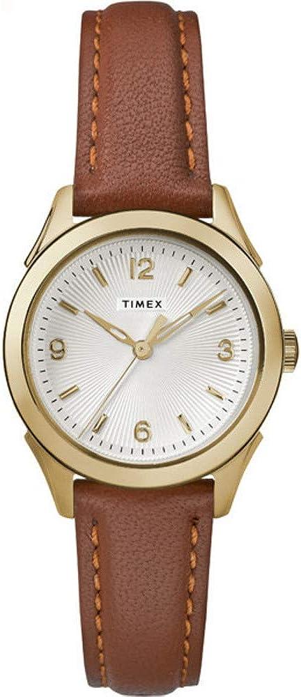 Timex Women's Torrington Women's 3-Hand 27mm Leather |Brown| Watch TW2R91100 51kdQ-wzhGLUL1000_