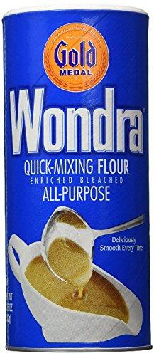 Wondra All Purpose Quick-Mixing Sauce 'N Gravy Flour (Pack of 3) 13.5 oz Size by Gold (Betty Crocker Sauce)