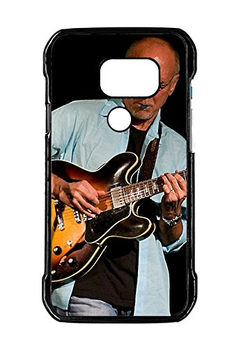 Samsung Galaxy S7 Active-Version Custom Design larry carlton guitar play shirt bald Slim Plastic Case Cover for Samsung Galaxy S7 Active-Version Design By [Andrea Novak]