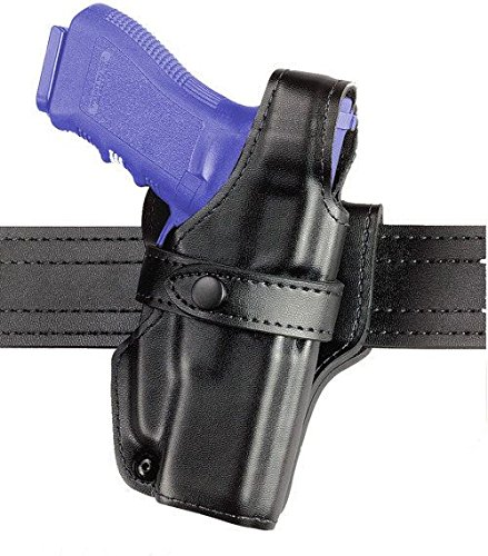 Safariland 070 Level III Retention Duty Holster, Mid-Ride, Black, High Gloss Right Hand, S&W M&P with Safety