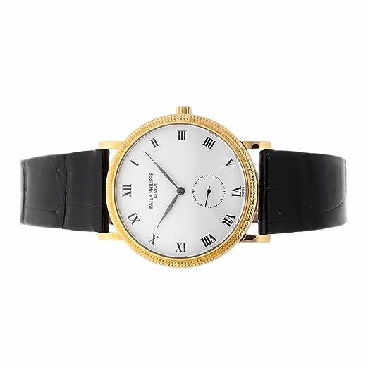 PATEK PHILIPPE CALATRAVA mechanical-hand-wind Mens Reloj 3919j (Certificado) de segunda mano: Patek Philippe: Amazon.es: Relojes