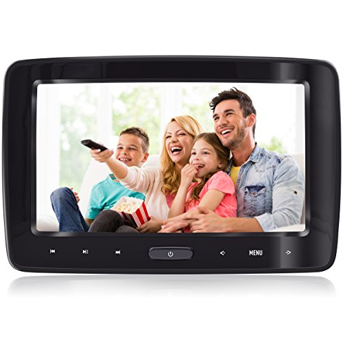 Headrest DVD Player for Car Can Use Both in Car or at Home as DVD Player eRapta Second Generation (Headrest DVD Player)