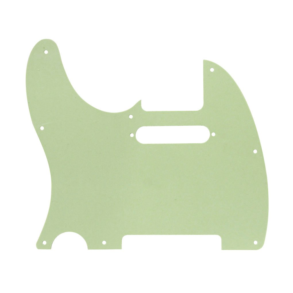 Red Tortoise Shell IKN 4Ply Tele Guitar Pickguard 8 Hole for Tele Style Guitar w//Screws