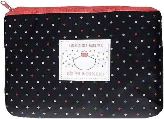 SMATI Poncho//Cape de Pluie avec Capuche Mode Femme Tissu de qualit/é imperm/éable activit/é en Plein air v/élo Moto randonn/ée