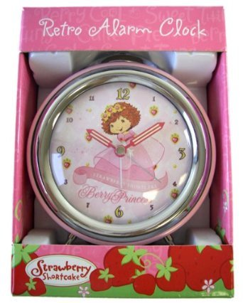 Pink Berry Princess Strawberry Shortcake Alarm Clock - Strawberry Shortcake Clock