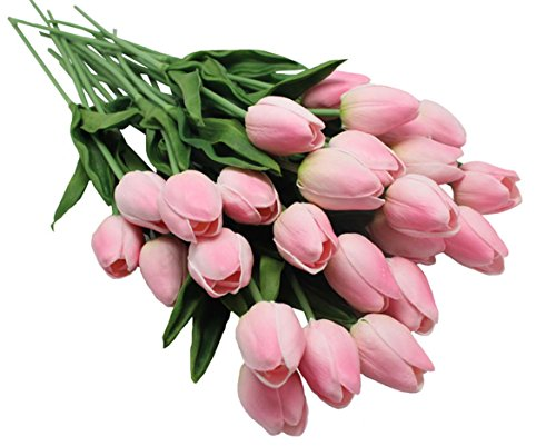10-heads-Home-Deocr-Mini-Tulip-Real-Touch-Tulip-Artificial-Flowers-Bouquets