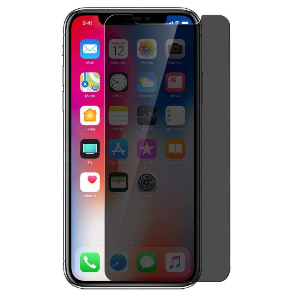 Amazon com: Anti-Peep Privacy Tempered Glass Screen Protector 3D