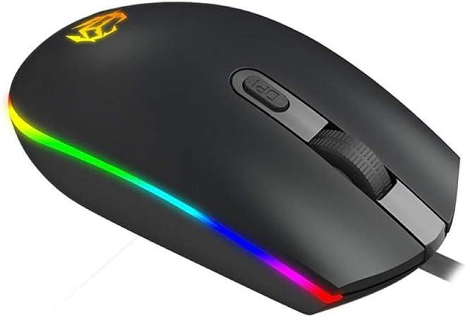 YOUZHA Muizen Mouse Raton Professionele 1600DPI LED USB