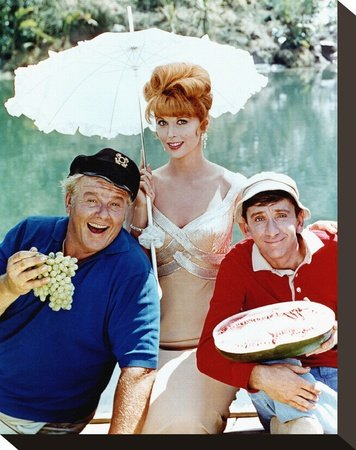 Gilligan's Island Print on Canvas