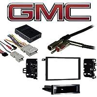 Fits GMC Denali 2003 Double DIN Aftermarket Harness Radio Install Dash Kit