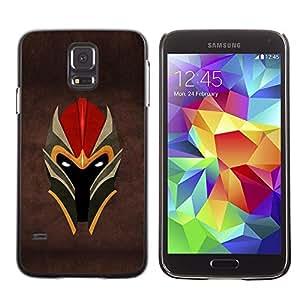 Be Good Phone Accessory // Dura Cáscara cubierta Protectora Caso Carcasa Funda de Protección para Samsung Galaxy S5 SM-G900 // Warrior Helmet
