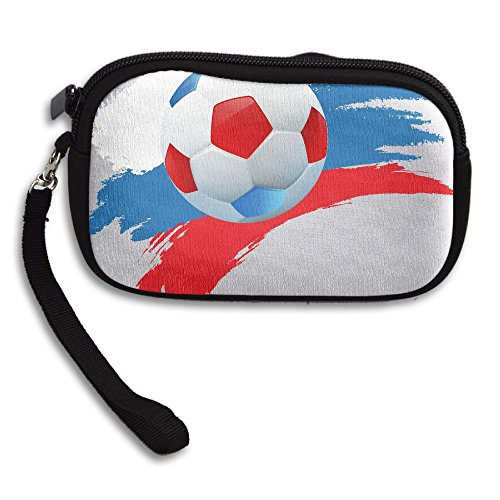 Black Bag Football Purse Small Printing Art Russia Receiving Portable Deluxe zwHTWq