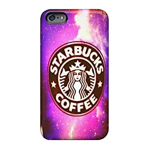 TraciCheung Apple Iphone 6 Shock Absorbent Hard Cell-phone Cases Allow Personal Design Trendy Starbucks Coffee Skin [pQz14859niZN]